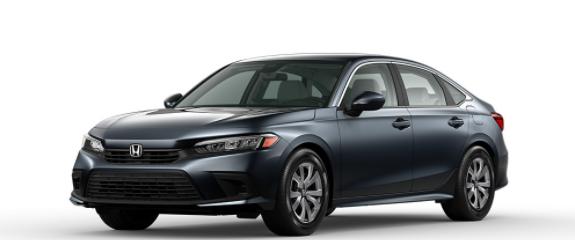 2022 Honda Civic Sedan Meteorite Gray Metallic