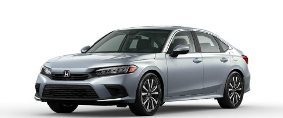 2022 Honda Civic Sedan Morning Mist Metallic
