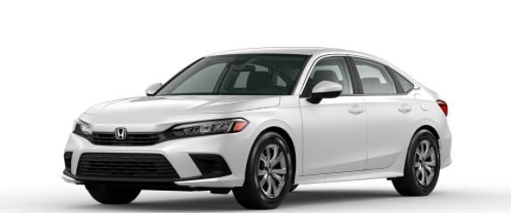 2022 Honda Civic Sedan Platinum White Pearl