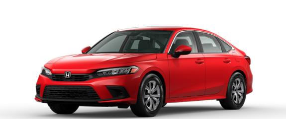 2022 Honda Civic Sedan Rallye Red