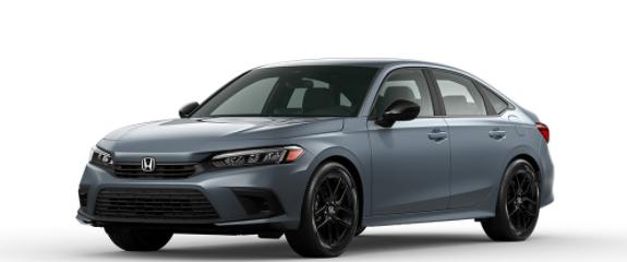 2022 Honda Civic Sedan Sonic Gray Pearl