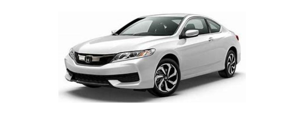 View of the 2017 Honda Accord in a white background