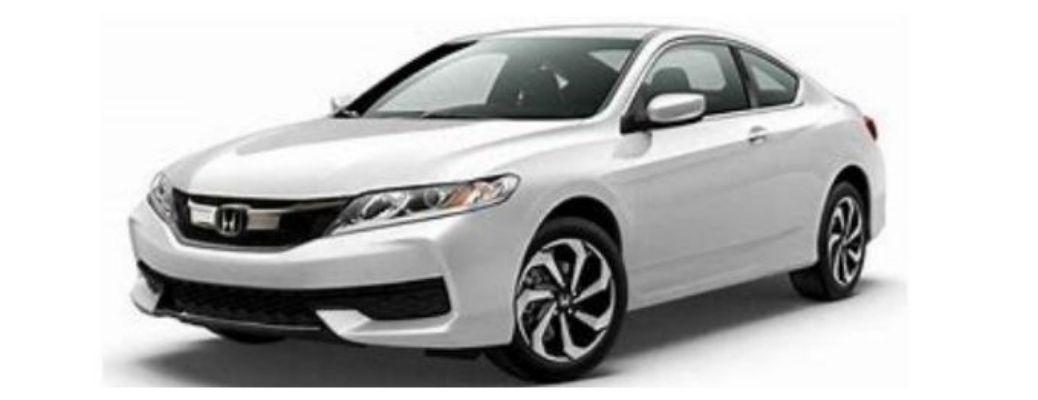 2017 Honda Accord in a white background