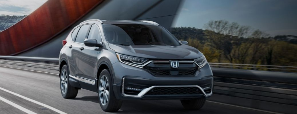 View of the 2022 Honda CR-V on road