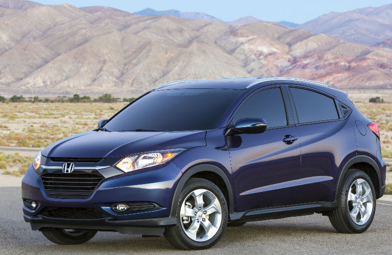 2017 Honda HR-V in blue