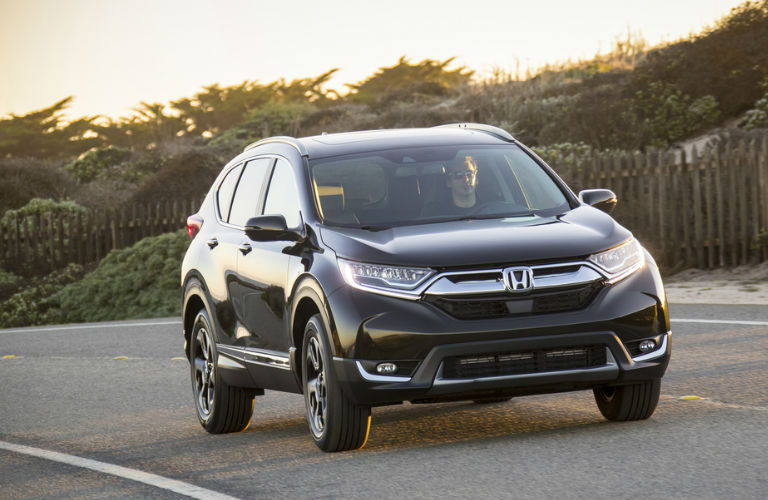 2017 Honda HR-V drives toward camera
