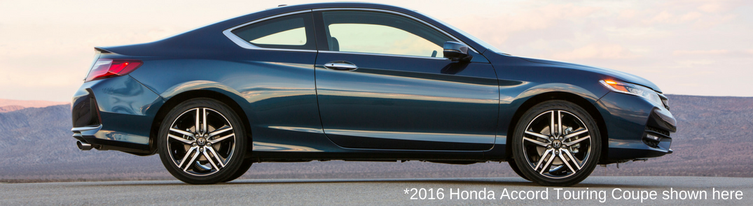 2016 Honda Accord Touring Coupe In Gray