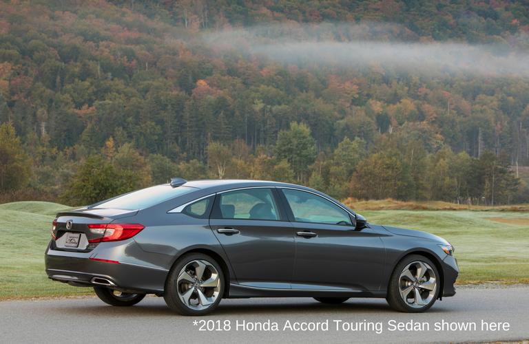 2018 Honda Accord Touring In Gray