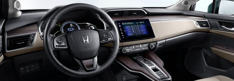 2018 Honda Clarity front interior