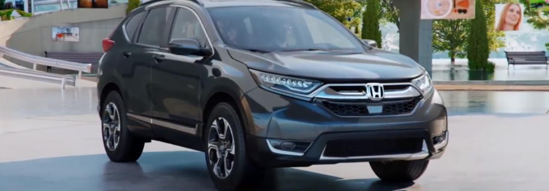 2018 Honda CR-V screen shot in gray