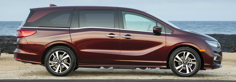 2019 Honda Odyssey exterior passenger side