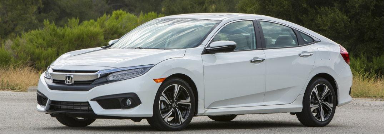 2018 Honda Civic Sedan parked on road