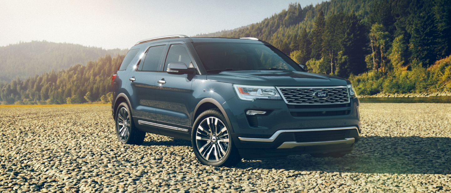 Interior and Exterior Color Options Available for the 2018 Ford Explorer