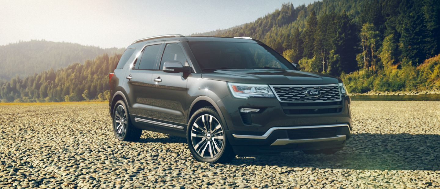 Ford Explorer 2017 Interior >> Interior and Exterior Color Options Available for the 2018 Ford Explorer