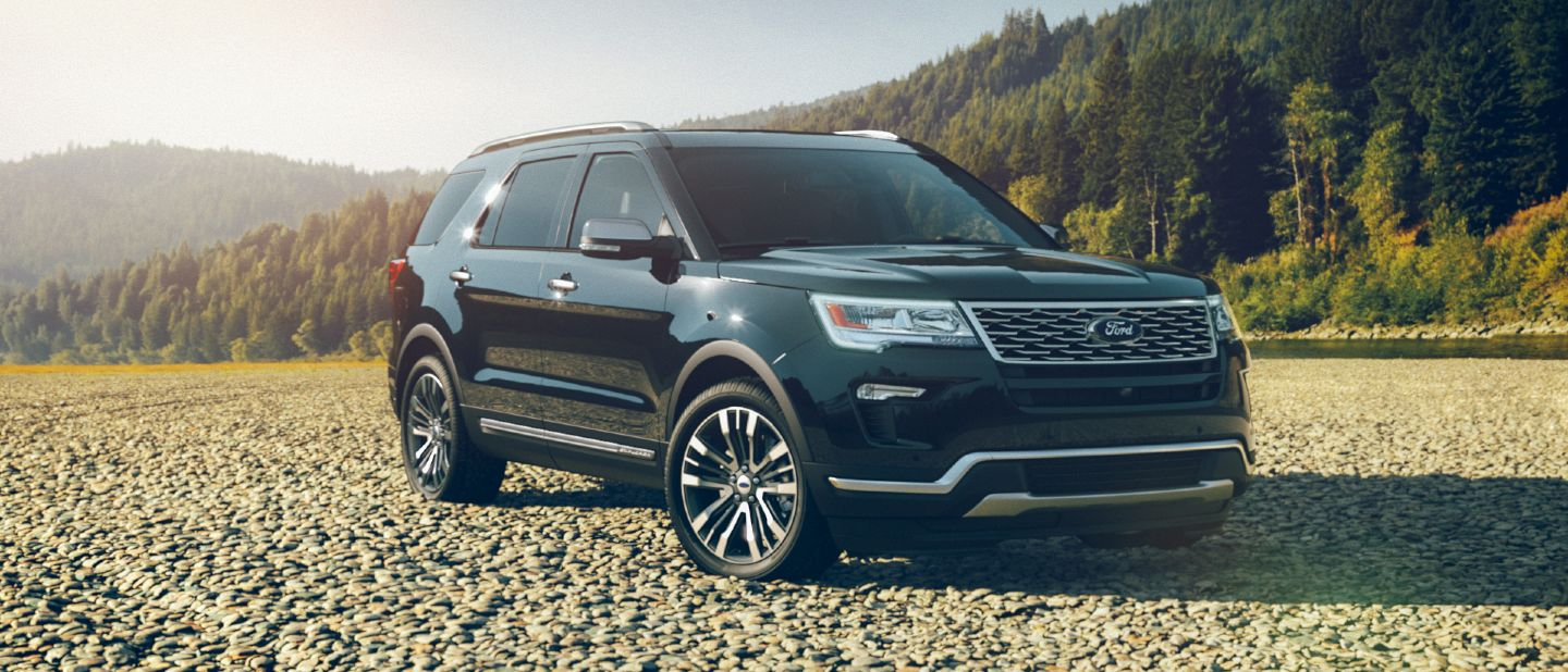 4runner Vs Highlander >> Interior and Exterior Color Options Available for the 2018 Ford Explorer
