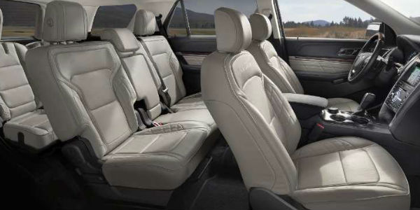 What Are the 2018 Ford Explorer Passenger and Cargo Space ...
