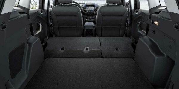 2018 Ford Escape Rear Cargo Space With The Rear Seats Laid Flat