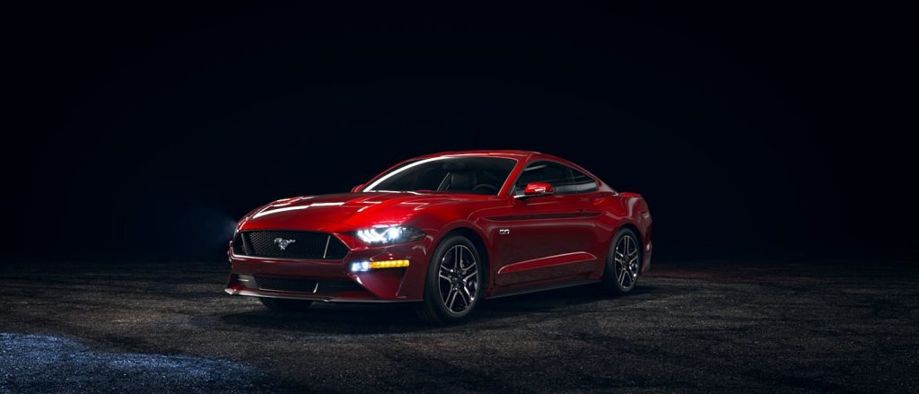 Available Color Options for the 2019 Ford Mustang