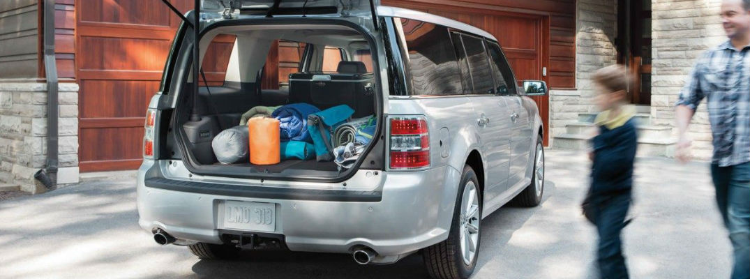 How Much Cargo Space Is In The 2019 Ford Flex