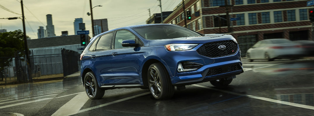 All New Ford Edge Employs Artificial Intelligence To Upgrade Performance And Fuel Economy
