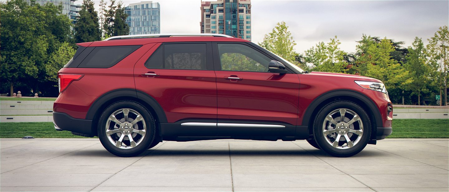 Available 2020 Ford Explorer Exterior Color Options Marshal Mize Ford