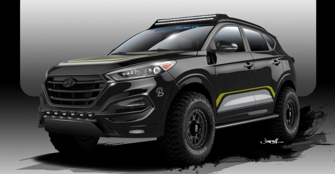 The Off Road Tucson Sema Concept