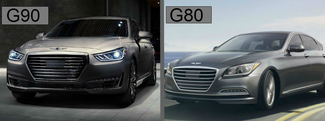 Differences Between 2017 Genesis G90 And G80