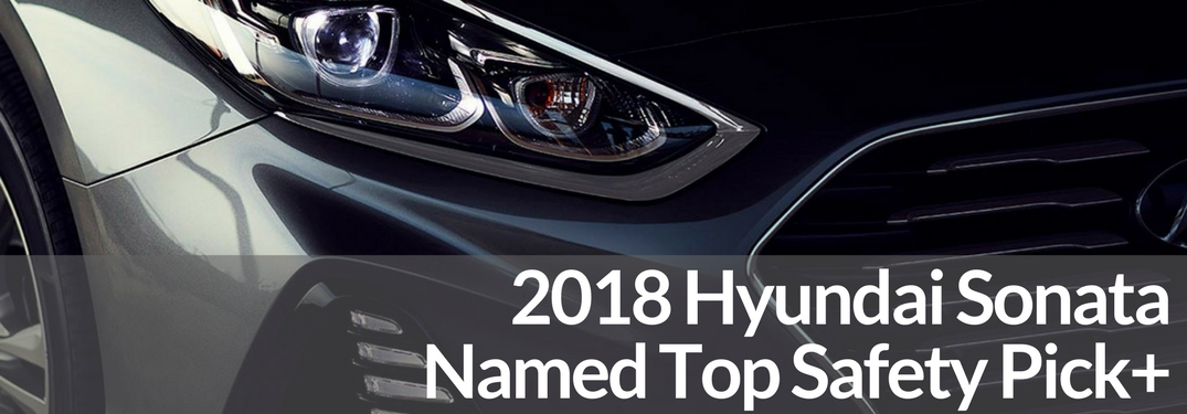 2018 hyundai sonata headlight close up