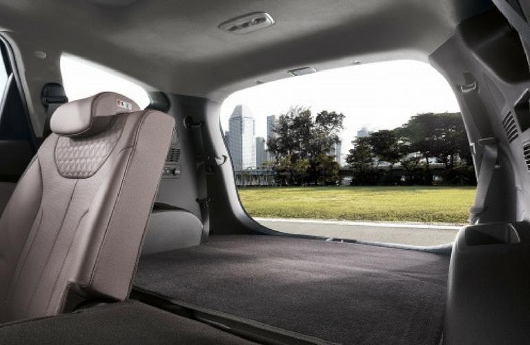 hyundai unveils the new fourth generation 2019 santa fe. Black Bedroom Furniture Sets. Home Design Ideas