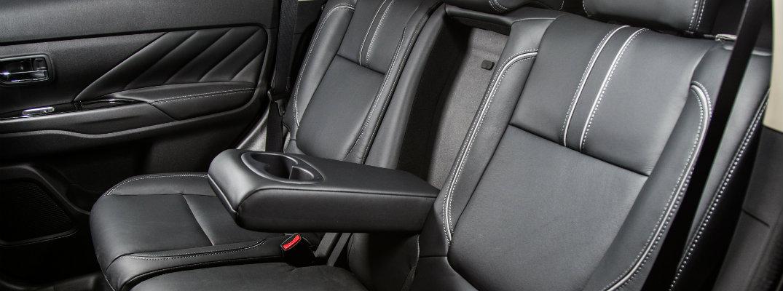 Los asientos del Mitsubishi Outlander PHEV 2018