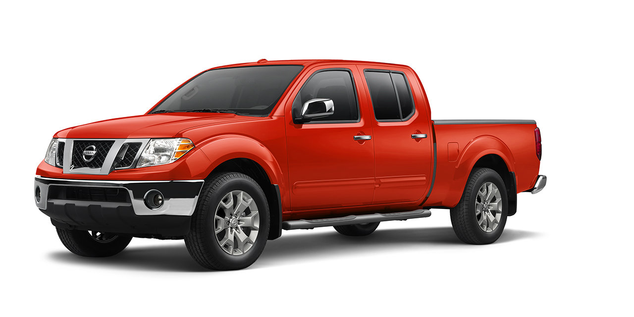 2017 Nissan Frontier Lava Red_o - Guam Nissan