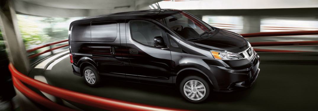 2017 Nissan NV200 sideview