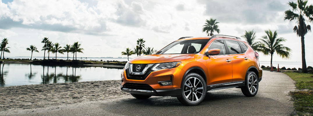 2017 Nissan Rogue Orange