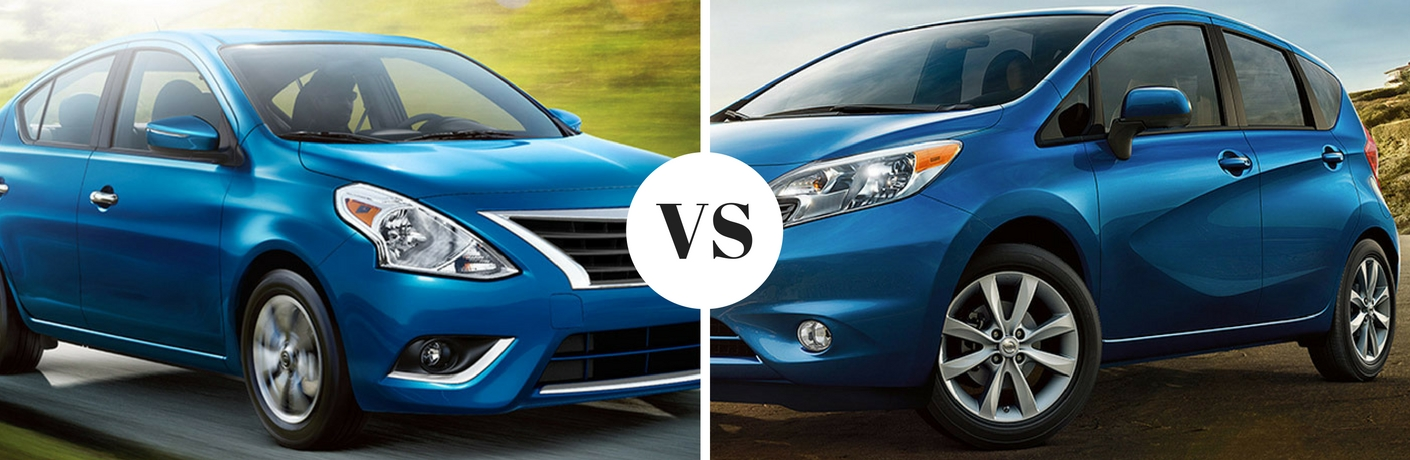 Differences Between a Sedan and a Hatchback Versa and Versa Note