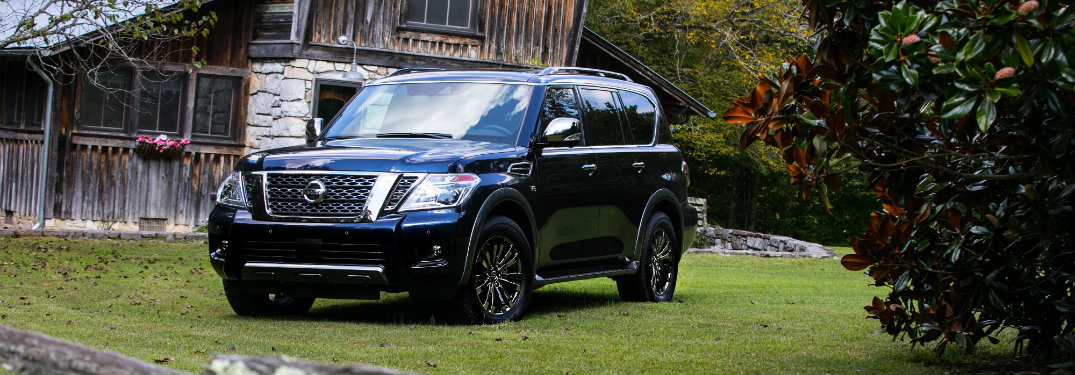 2018 Nissan armada seating capacity
