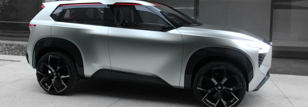 silver nissan xmotion concept