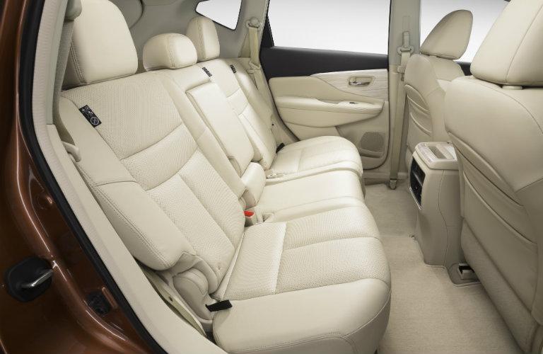 nissan murano white rear seats