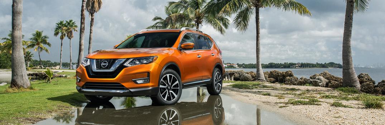 2018 Nissan Rogue parked near tropics