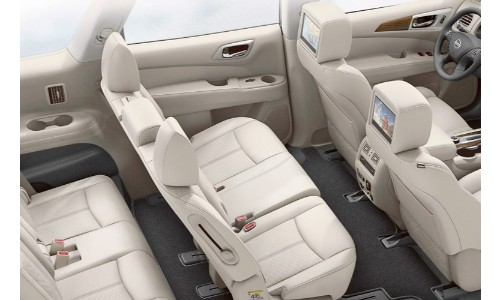 2019 Nissan Pathfinder seating interior
