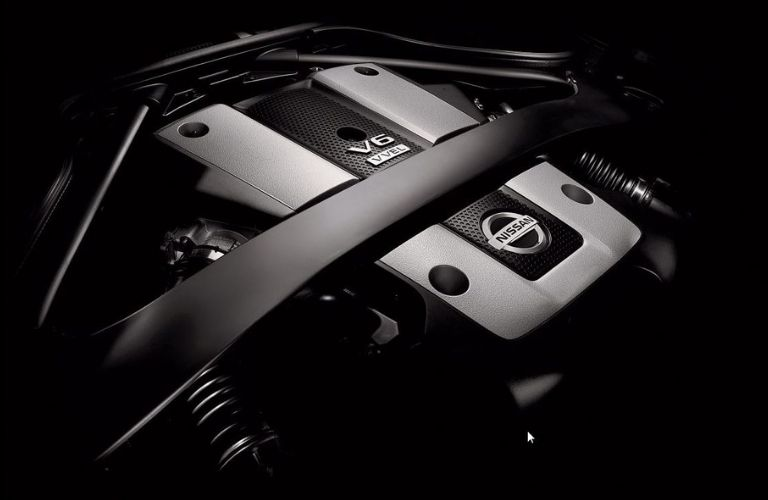 Image of the 2020 Nissan 370Z 3.7L V6 engine