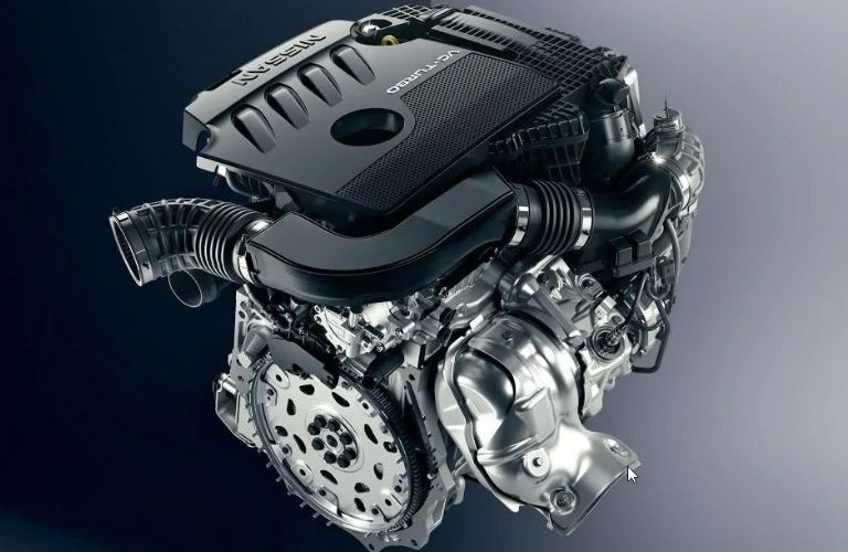 Image of the 2020 Nissan Altima 2.0L VC-Turbo™ engine