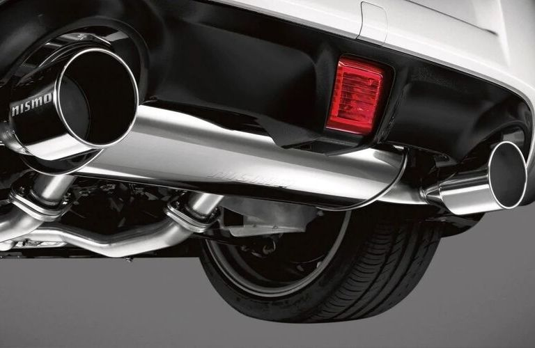 Image of the NISMO® exhaust accessory available with the 2020 Nissan 370Z