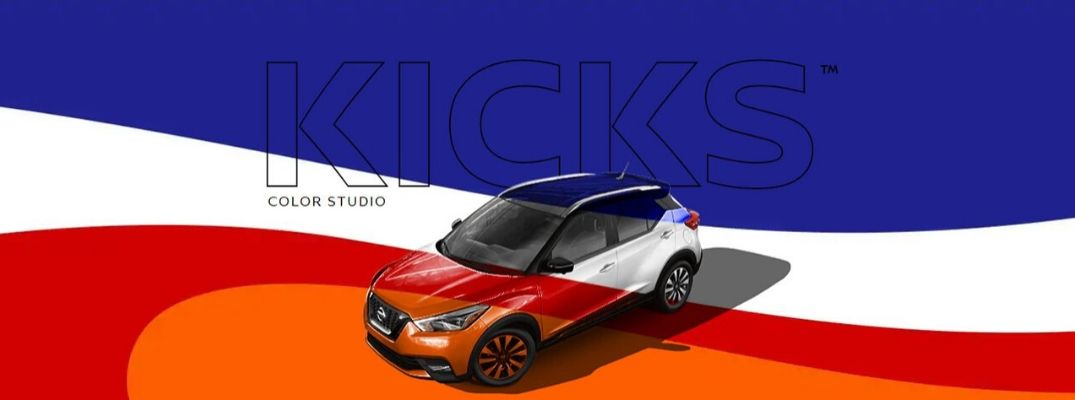 What Exterior Color Options Are Available with the Nissan Kicks Color Studio®