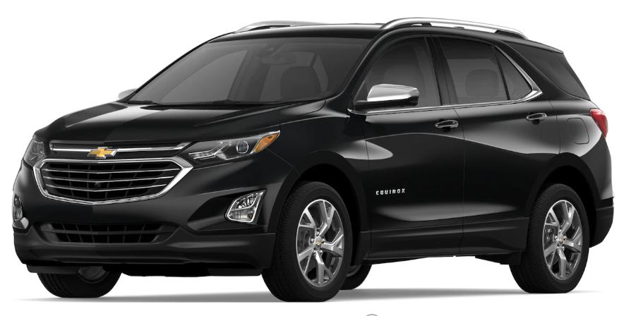 Pacific Auto Sales >> 2019 Chevrolet Equinox Color Options