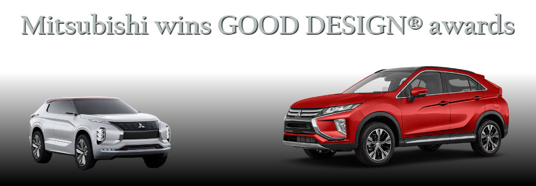 Mitsubishi wins GOOD DESIGN® awards