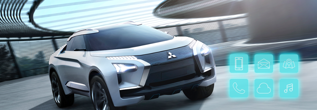 Mitsubishi Connect personalizes your driving experience