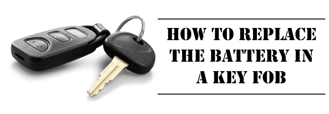 How to Replace the Battery in a Mitsubishi Key