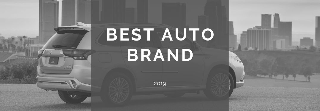 best auto brand 2019 with mitsubishi vehicle
