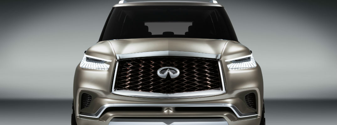 Front view of Infiniti QX80