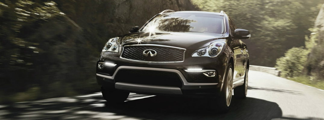 Safety Features and Technology of the 2017 INFINITI QX50 Front